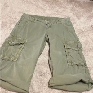 Joie Size 2 knew high cotton cargo shorts